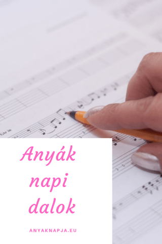 Anyák napi dalok, megzenésített versek